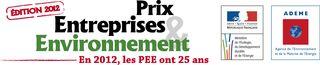 Logo prix entreprises et environnement 25ans