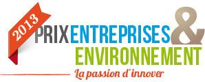 Logo du Prix Entreprises & Environnement 2013
